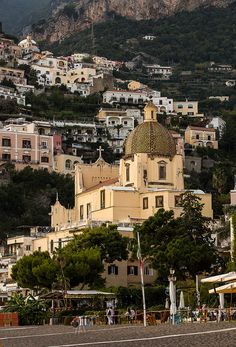 Positano Duomo-I have stayed in Positano but did not see the Duomo from this side....
