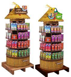 Muy colorido y atractivo para el consumidor.David Mnenedez.Plv Incollables
