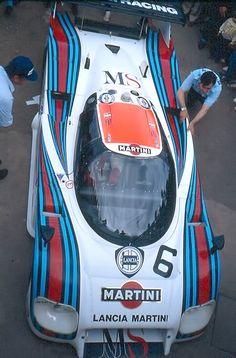 1983 .. Le Mans , entered by Martini racing Lancia LC2-83 , driven by Nannini / Andruet / Barilla , DNF>blown turbo