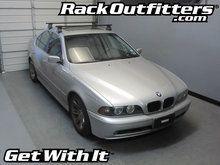 BMW 5 Series Thule Traverse Square Bar Base Roof Rack '97-'03