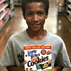 Entenmann's Little Bites Soft Baked Chocolate Chip Cookies provide the delicious taste kids love and the good choice parents want in a quick snack.  @entenmanns are available at @walmart #snacks #kidssnacks #healthysnacks #entennmanns #afterschoolsnack