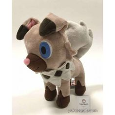 Pokemon Center 2016 Rockruff Plush Toy