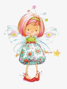 Leading Illustration & Publishing Agency based in London, New York & Marbella. Art And Illustration, Illustration Mignonne, Cute Images, Cute Pictures, Art Fantaisiste, Art Mignon, Fairy Art, Digi Stamps, Whimsical Art