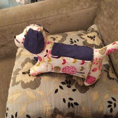 Puppy sewing organiser - my favourite of the litter!