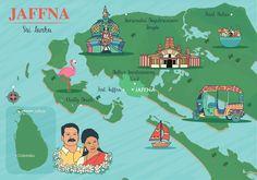 Jaffna Map Sri Lanka