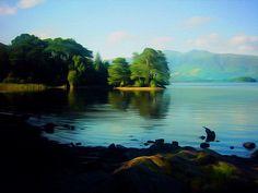 Landscape of Love in Digital Oils