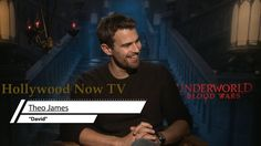 Theo James Talks 'Underworld,  Keeping His Jewels Off Social Media