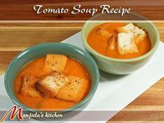 Tomato Soup Recipe by Manjula - YouTube