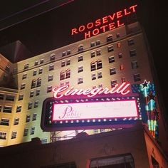 Hollywood Roosevelt Hotel in Los Angeles, CA