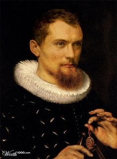 """Portrait of a Man (Peter Paul Rubens). """"Is Rubens watching? I might just steal this locket, then. Peter Paul Rubens, Johannes Vermeer, Paul Gauguin, Pedro Pablo Rubens, Jan Van Eyck, Renaissance Paintings, Renaissance Portraits, Jude Law, Actrices Hollywood"""
