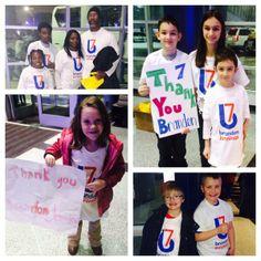 Kids Kicking Cancer at The Detroit Pistons game thanks to Brandon Jennings!