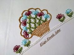 Basketed Needlepoint Model / T Needle Lace, Bobbin Lace, Butterfly Flowers, Lace Flowers, Helly Hansen, Bargello, Flower Basket, Baby Knitting Patterns, Needlepoint