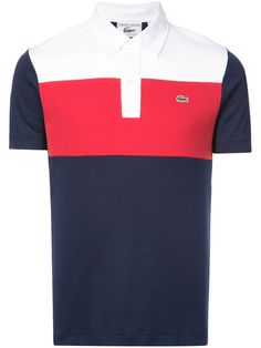 b8a151aa3 Lacoste Colour Block Polo Shirt  145 - Buy Online AW18 - Quick Shipping