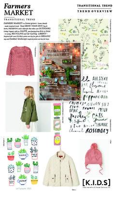 Emily Kiddy: [K.I.D.S] Autumn | Winter 2018/19 _ Farmers Market (Trend Overview)