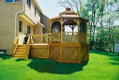 If you are day dreaming of warmer weather and already planning your landscaping and home improvement projects, a gazebo might be on your list.