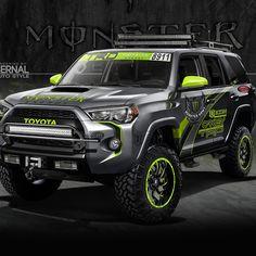 Toyota 4 Runner SEMA 2015