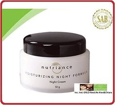 MOISTURIZING NIGHT FORMULA (Deep conditioning while you sleep for younger-looking skin, Pure Swiss collagen supports the structure and firmness of young, attractive skin, with Aloe Vera) -- Awesome products selected by Anna Churchill
