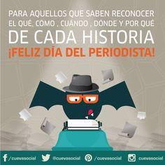 ¡Feliz día, colegas! #Periodista #DíaDelPeriodista #OrgullososDeSerPeriodistas