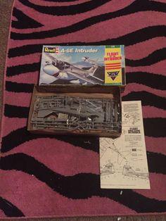 "Revell A-6E Intruder 1:72 ""Flight of The Intruder"" Airplane Model Never Started | Toys & Hobbies, Models & Kits, Military | eBay!"