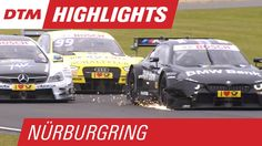 Race 1 Highlights - Rewind - DTM Nürburgring 2015 // Watch the highlights of an exciting race 1 at the Nürburgring!