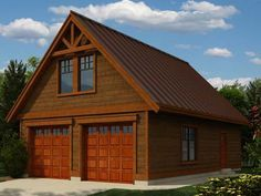 Small House Plans with Loft and Garage. 60 Lovely Of Small House Plans with Loft and Garage Pic. Small Garage Plans with Loft Home Desain 2018 Garage Workshop Plans, Garage Plans With Loft, Plan Garage, Rv Garage, Garage Shop Plans, Workshop Layout, Garage Office, Garage Studio, Workshop Ideas