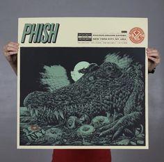 Phish Official Poster Print From MSG Bakers Dozen NYC Ken Taylor LE/1000 ***   Entertainment Memorabilia, Music Memorabilia, Rock & Pop   eBay!