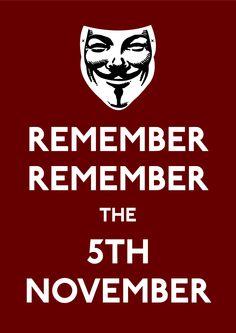 Guy Fawkes/V for Vendetta. Gunpowder treason and plot! Happy Guy, Make Me Happy, Penny For The Guy, Ideas Are Bulletproof, The Fifth Of November, October, Guy Fawkes Night, Gunpowder Plot, November Quotes