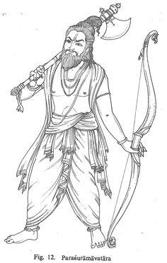Parasuramavatara Indian Traditional Paintings, Indian Paintings, Art Paintings, Kerala Mural Painting, Tanjore Painting, Lord Vishnu Wallpapers, Estilo Hippie, Madhubani Art, Indian Folk Art
