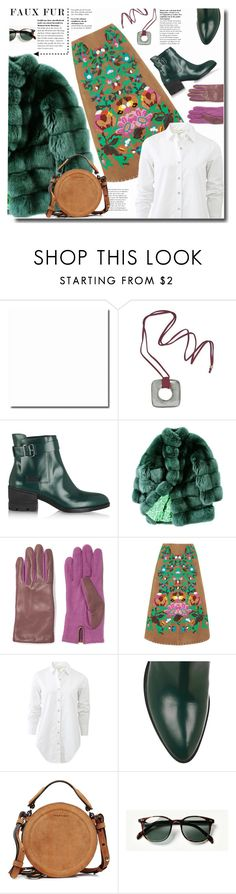 """""""fauxfurcoat"""" by bynoor ❤ liked on Polyvore featuring NOVICA, Alexander Wang, ESCADA, AGNELLE, Valentino, rag & bone, Carven, Waverly and fauxfurcoats"""
