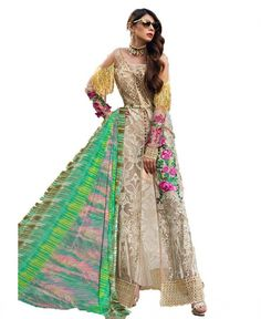 Buy Multi Color Georgette Pakistani Suit Lehenga Choli, Saree, Online Shopping, Pakistani Suits, Designing Women, Kurti, Dresses Online, Stuff To Buy, Color