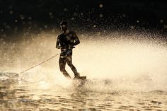 Sunset Wakeboarding am Ossiacher See