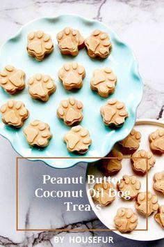 Top 10 DIY Homemade Dog Food Recipes Bacon Dog Treats, Peanut Butter Dog Treats, Coconut Peanut Butter, Homemade Peanut Butter, Homemade Dog Treats, Healthy Dog Treats, Doggie Treats, Healthy Pets, Homemade Food