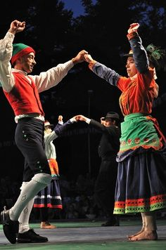Portuguese traditional national dancing