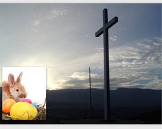 Caught between the Easter Bunny & The Cross -Easter ADvent ideas for adults & kids- How do you explain the Easter bunny to your kids?