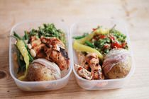 Brown Bag It! 14 ideas for weekday lunches from The Kitchen. Bonus - how to poach an egg in the 'wave.  Wow!