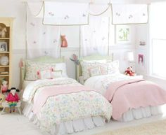 Big Art Princess Reversible Twin Duvet by Whistle and Wink by Whistle and Wink. $199.00. Exquisite and intricate embroidered Birds of Paradise nestled in floral vines with green contrast-piping trim. 240 thread-count 100% cotton sateen. Four inside corner ties and hidden button closures. Pink color way on white ground.