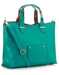 Maybe carrying a bag with a color this lovely will drive away the rain!