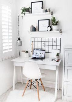 Trendy home office design shelves decor Home Office Design, Home Office Decor, Home Design, Diy Home Decor, Design Ideas, Office Designs, Design Room, Bed Design, Design Art