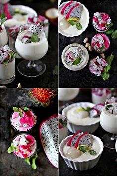 Tropical Coconut Milk Rice Pudding