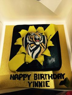 Footy Cake Decorating Ideas