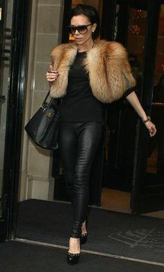 Victoria with Fur Cape