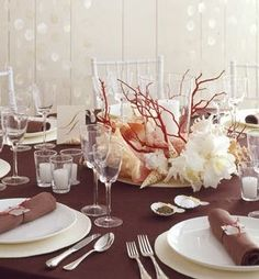 a sophisticated Table Centerpiece by Martha Stewart, beautiful, but more elaborate.