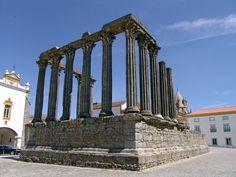 Templo de Diana - Évora  Portugal