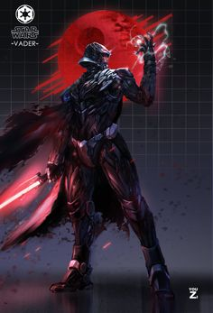 Darth Vader (ver.zi), You ZI on ArtStation at https://www.artstation.com/artwork/8bBVG