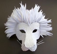 Paper Lion Mask | von all things paper
