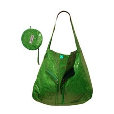 A green green bag - made from recyclable Tyvek. #doublegreen