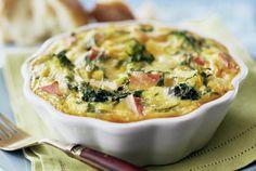 Broccoli Quiche Recipe with Cheddar Cheese