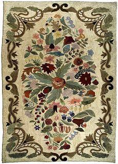 An American Hooked rug circa 1920