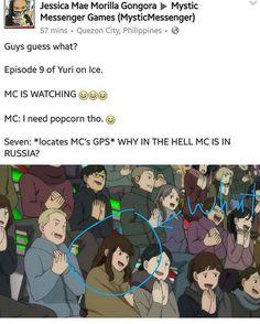 "MC, Saeyoung ""707"" ""Luciel"" Choi, Mystic Messenger"