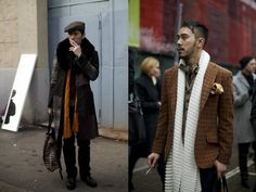 Loving the laying/scarfs/accessories   I heart eclectic mens fashions-My fav on a man!<3